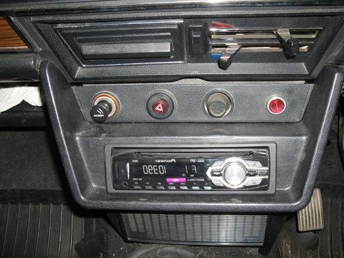 Магнитола в автомобиле ВАЗ