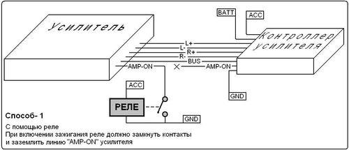 podklyucheniyu_usilitelya_k_shtatnoj_magnitole_2