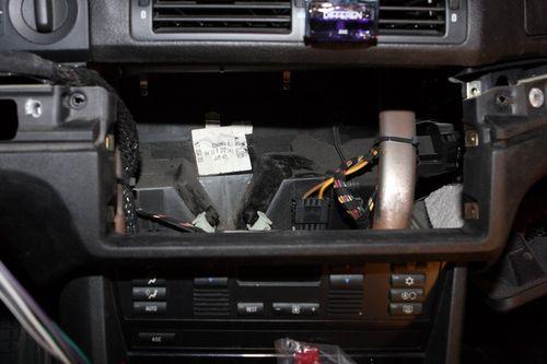 как снять штатную магнитолу BMW x5 e53