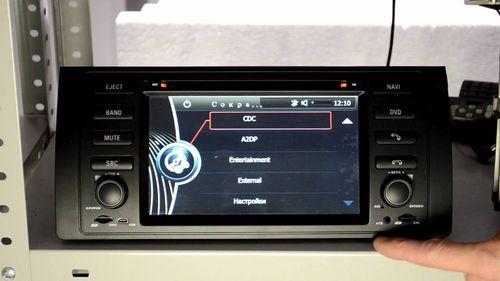 как снять кассетную магнитолу на BMW e39
