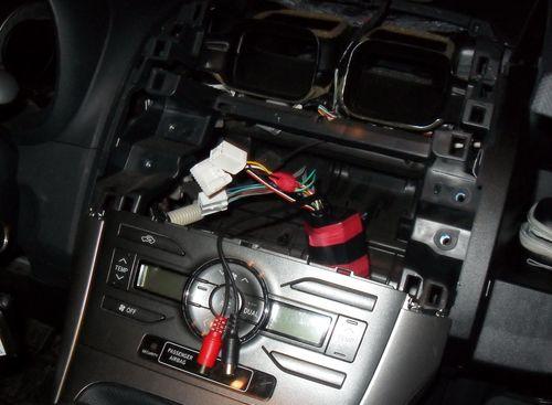 Как снять магнитолу в автомобиле Тойота