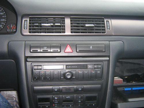 Как снять магнитолу для замены в автомобиле Ауди