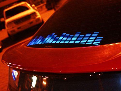 Как сделать цветомузыку в машине