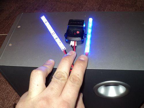 эквалайзер из светодиодной ленты своими руками нашем