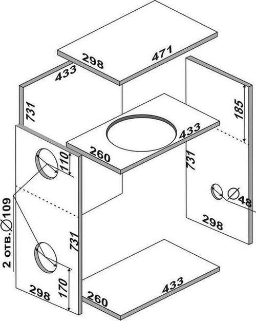 Инструкция по изготовлению корпуса сабвуфера своими руками
