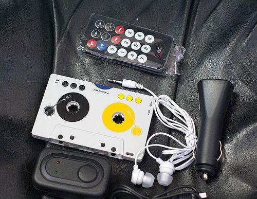 Как сделать кассетный магнитофон чтобы читал aux