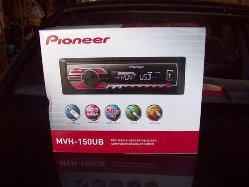 Обзор магнитолы Pioneer MVH 150ub
