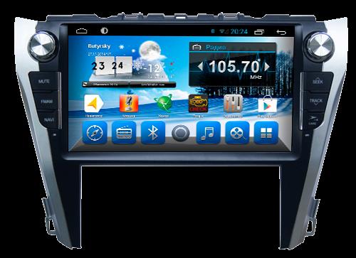Выбираем магнитолы для Toyota Camry на Андроиде