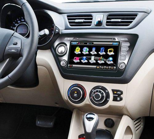 Обзор моделей магнитол для автомобиля Kia Rio