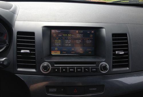 Выбираем магнитолу в Mitsubishi Lancer X