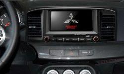 Как выбрать модель магнитолы на Mitsubishi Lancer
