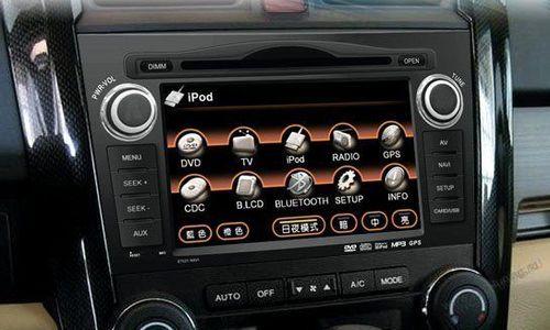 Как подобрать магнитолу на Honda CR V
