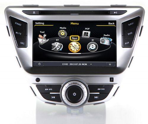 Штатные магнитолы в автомобиль Hyundai Elantra