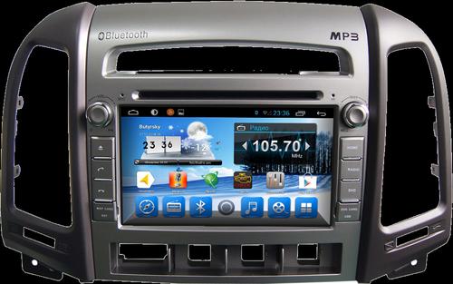 Модели магнитол для авто Hyundai Santa Fe