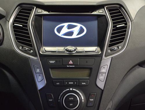Магнитола в Hyundai Santa Fe