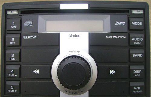 Штатная магнитола Clarion
