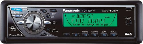 Автомагнитолы Panasonic