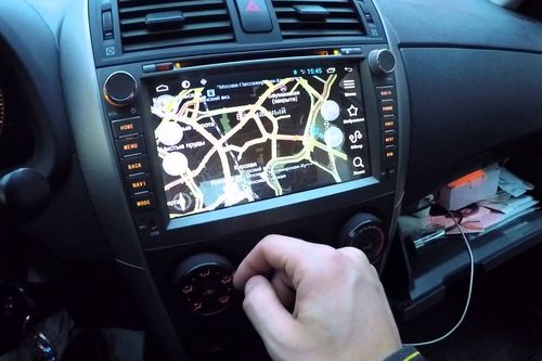 Обзор моделей магнитолы для Toyota Corolla