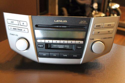 Штатная магнитола для автомобилей Lexus