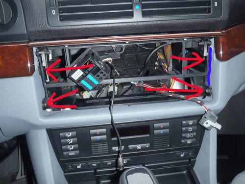 Модельный ряд магнитол на BMW X5 E53