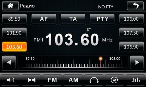 Радио на автомагнитоле