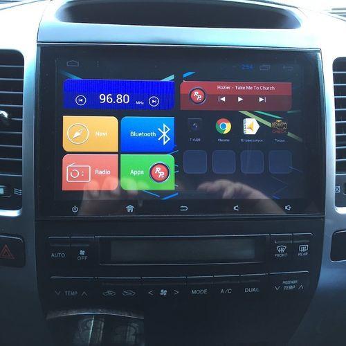 Штатная магнитола для Toyota Land Cruiser Prado 120 Android