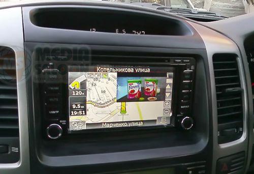 Всё про магнитолы для Toyota Land cruiser Prado