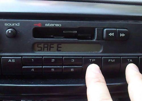 Автомагнитола с записью Safe