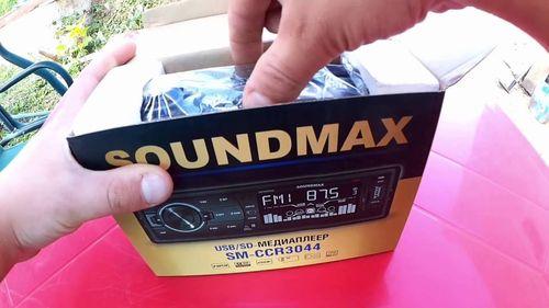 Mедиаплеер soundmax SM-CCR3044