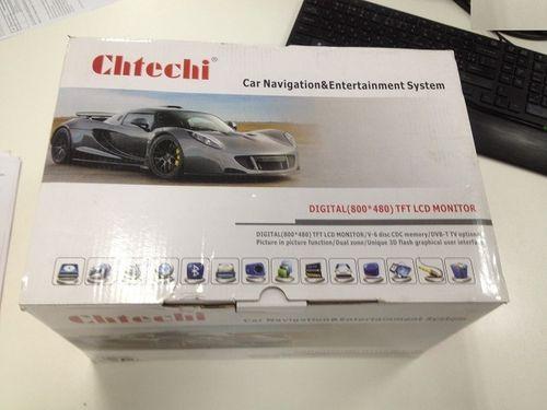 Автомагнитола Chtechi в упаковке