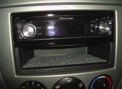 Гнездо для магнитолы в автомобиле
