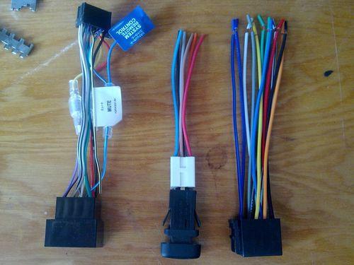 Провода для автомагнитолы
