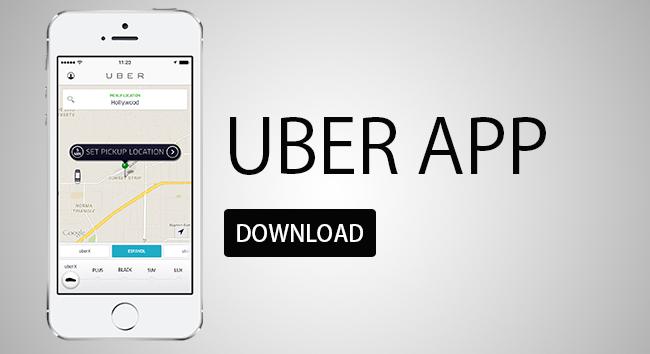 Приложение для такси - Uber