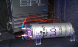Как выбрать конденсатор для сабвуфера и подключить
