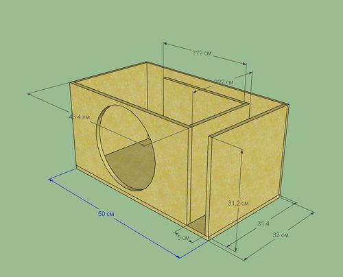 короб для сабвуфера