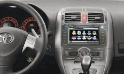 Обзор моделей магнитол Тойота Аурис