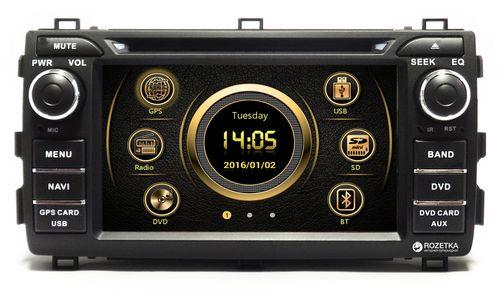 Штатное головное устройство EasyGo S332 Toyota Auris