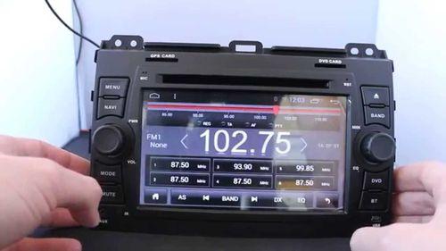 W2-D8129T: для Toyota Land Cruiser Prado