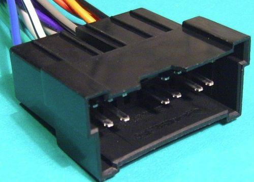 Разъем автомагнитолы штекер