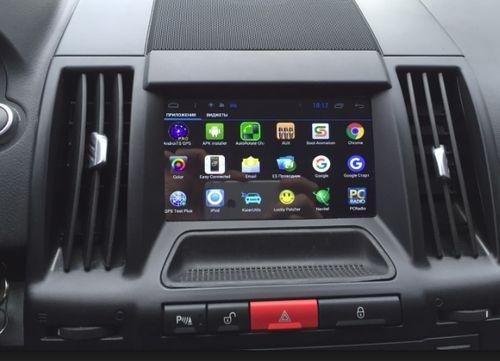 Магнитола в автомобиле