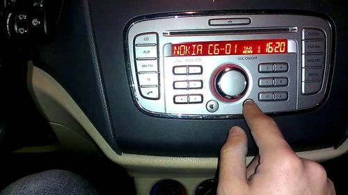 Магнитола Форд 6000CD